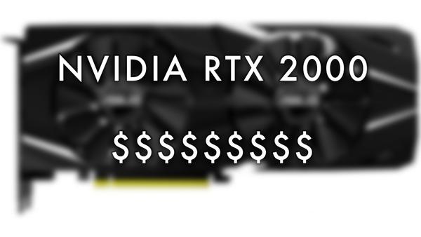 Las nuevas tarjetas gráficas de Nvidia tendrían unos precios elevados