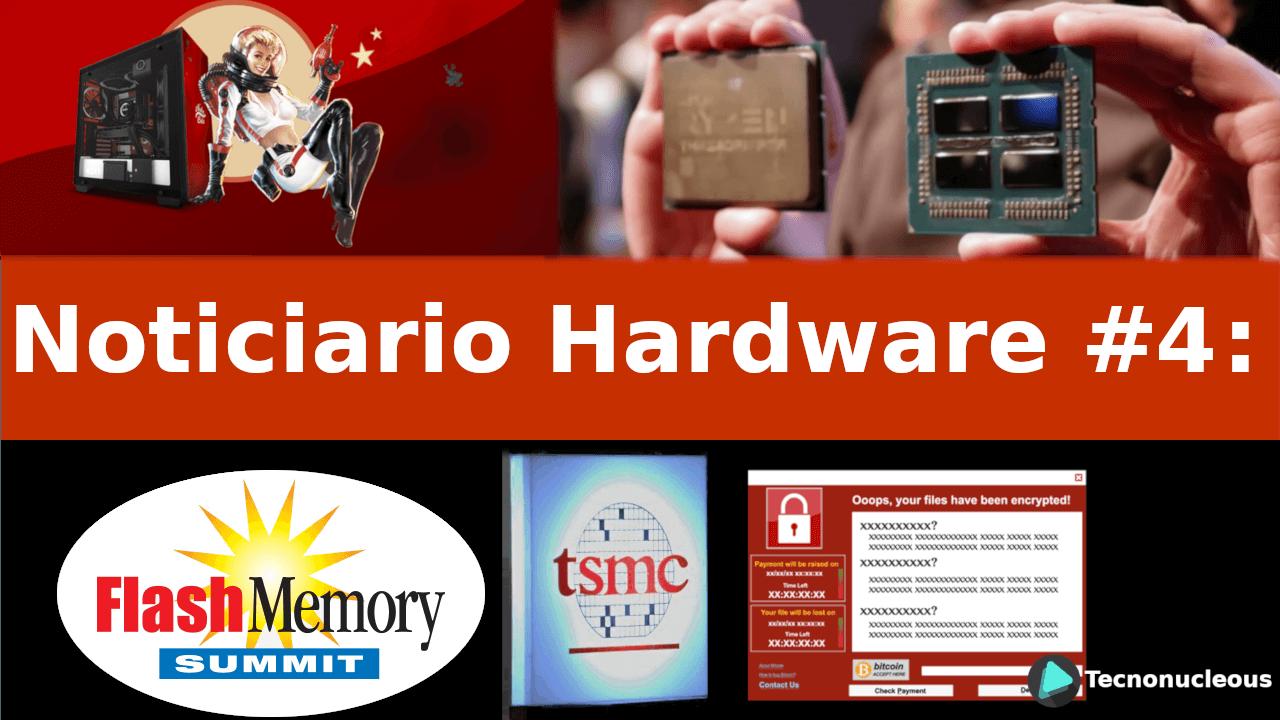 Noticiario Hardware #4: Threadripper 2, Nvidia, Malware TSMC y más