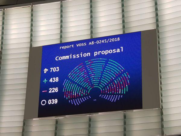 La unión europea aprueba las negociaciones de los artículos 3, 11, 12 y 13 de la reforma del copyright. #CopyrightDirective