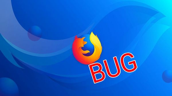 Un nuevo bug en Firefox causa bloqueos en Windows, Mac y Linux
