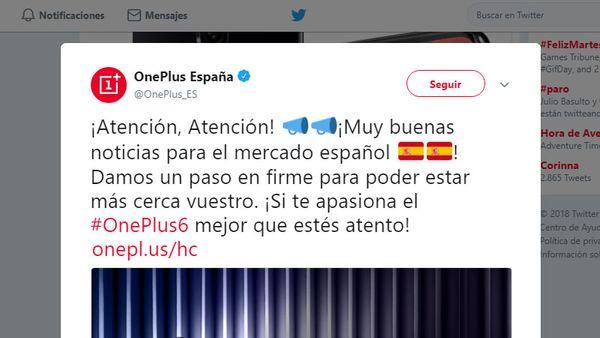 OnePlus abrirá un oficina en España