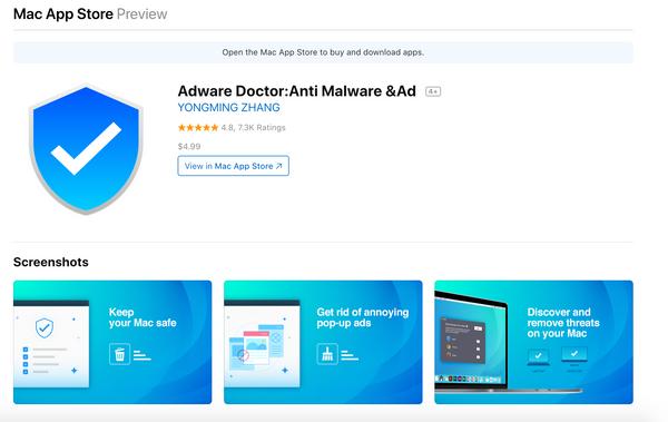 Adware Doctor retirado de la Mac Apple Store por mandar el historial de búsqueda de los usuarios a China