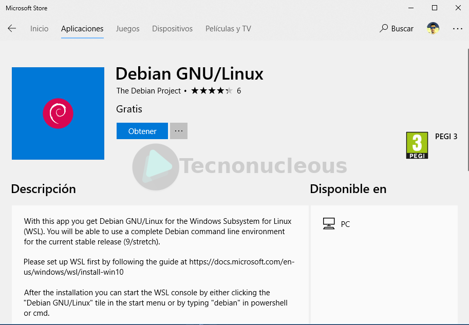 ¿Comó instalar Debian en Windows 10?