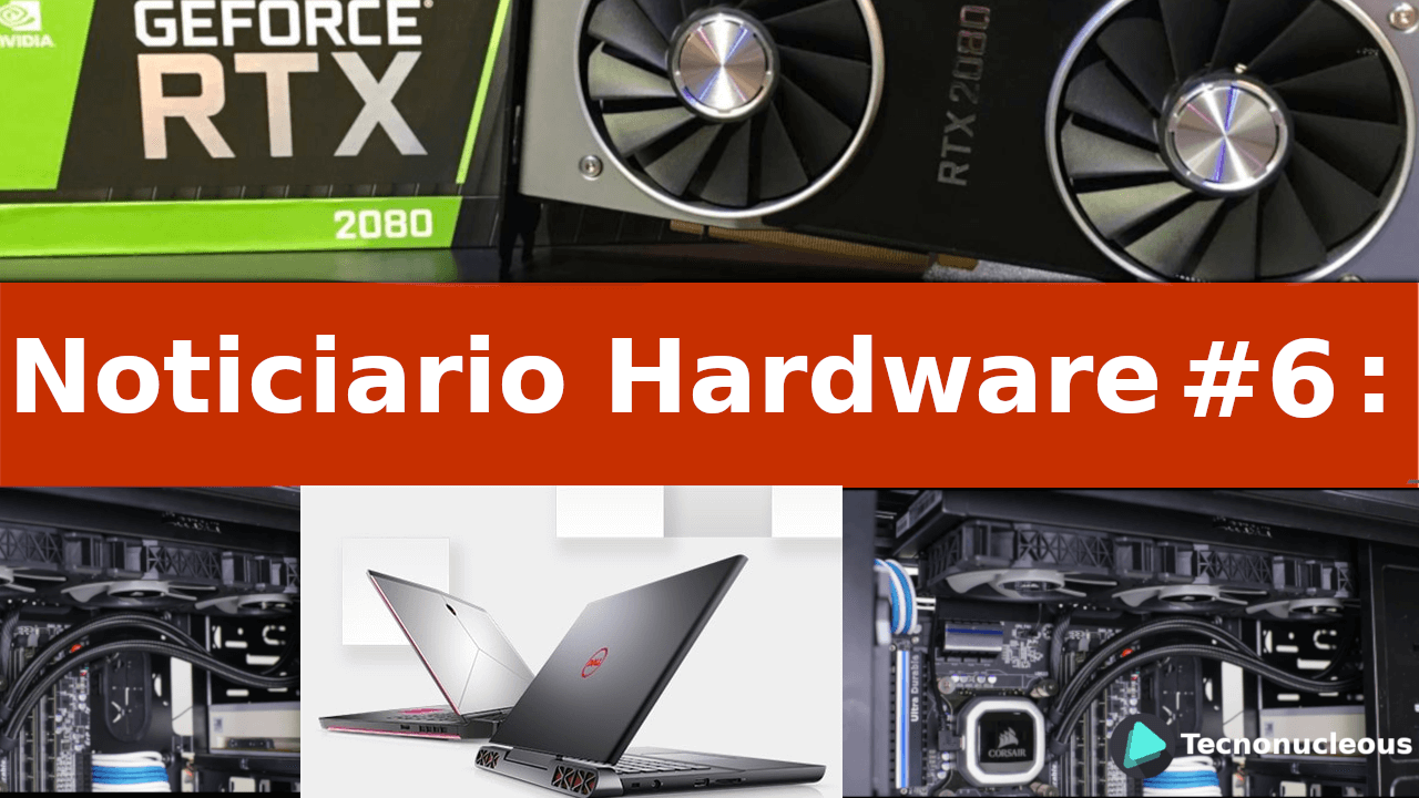Noticiario Hardware #6: Stock de Nvidia, Monitores Gaming Dell y más