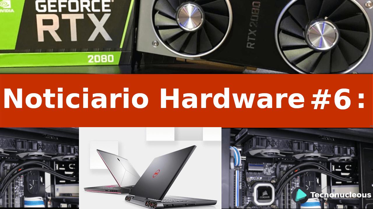 Noticiario Hardware #6: Stock de Nvidia, Monitores Gaming Dell y más