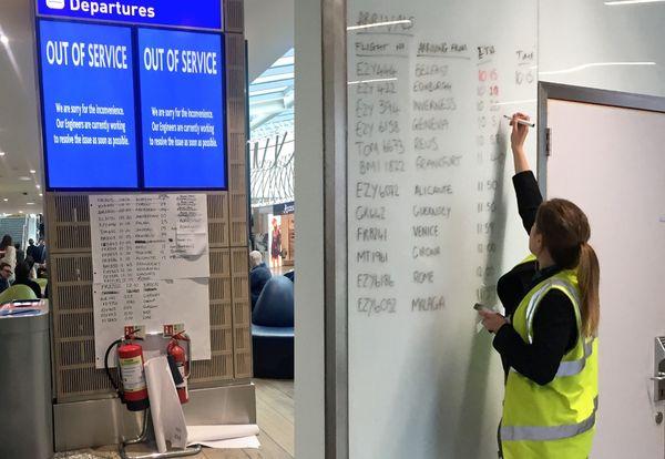Un ataque de ransomware en el aeropuerto de Bristol afecta a las pantallas de los vuelos