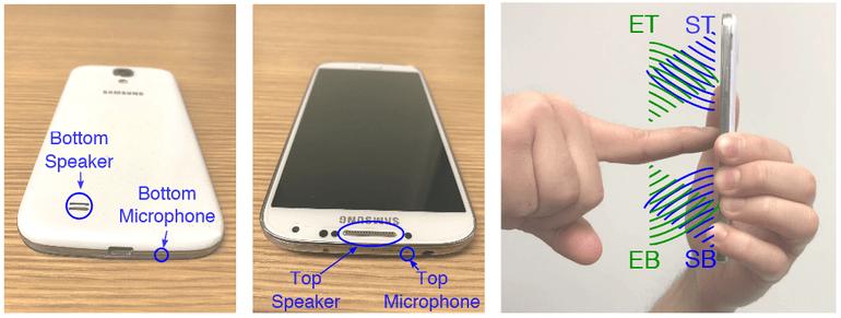 SonarSnoop: el ataque que puede robar los patrones de desbloqueo del Smartphone