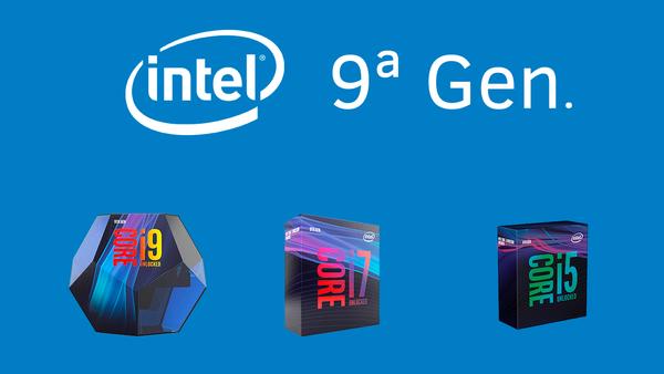 Ya está aquí la 9ª generación de procesadores Intel