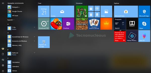 La última preview de Windows 10 permite eliminar más aplicaciones preinstaladas