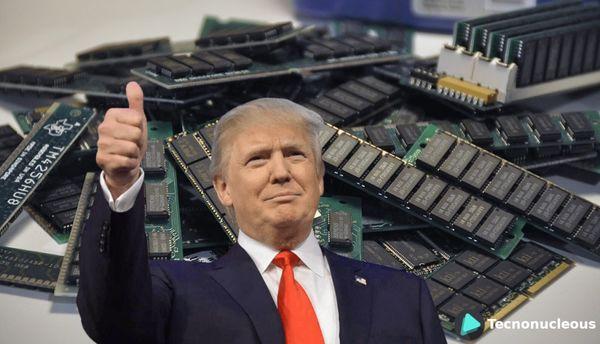 Trump prohibe la exportación de DRAM al Fujian Jinhua Integrated Circuit alegando riesgo de seguridad nacional