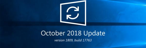 Microsoft detiene la actualización de Windows 10 de octubre de 2018