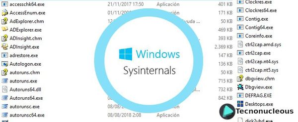 ¿Cómo instalar Sysinternals en Windows 10?