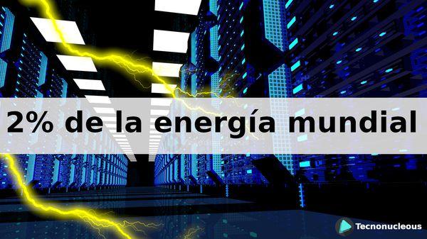 Los centros de datos están utilizando el dos por ciento de la energía mundial