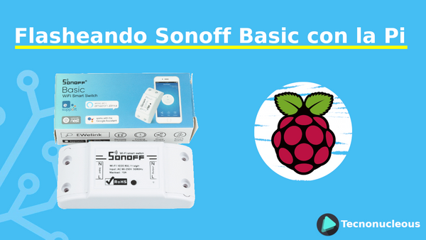 Flasheando Sonoff Basic con la Raspberry Pi 2