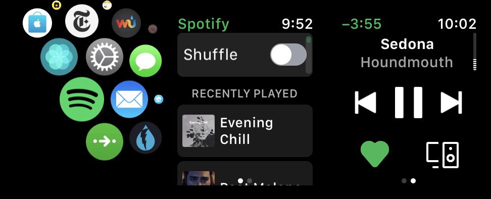 Spotify llega a los watchOS