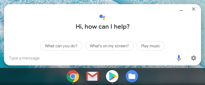 Google Assistant llegará a más dispositivos Chrome OS