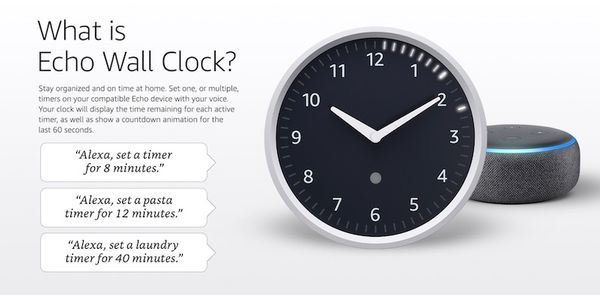 Alexa Wall Clock: el reloj de pared inteligente