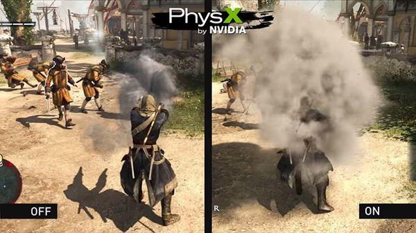 El motor de simulación de físicas Nvidia PhysX ahora es Open Source