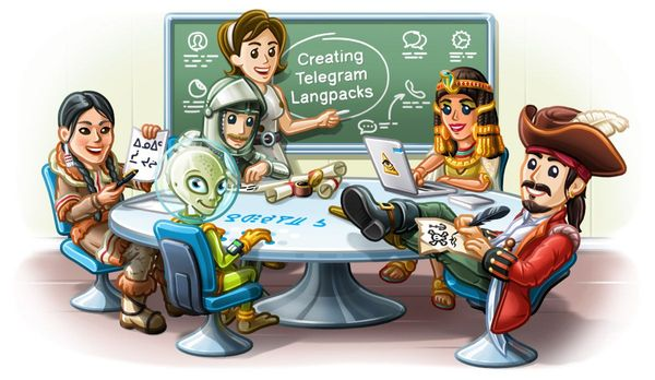 Telegram 5.0 para Android: Instant View 2.0, Mejor soporte de idiomas e Interfaz Rediseñada