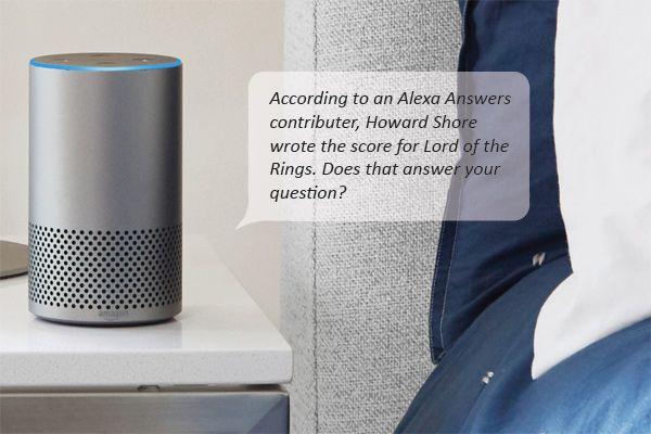 Amazon quiere que respondas preguntas que Alexa no puede responder