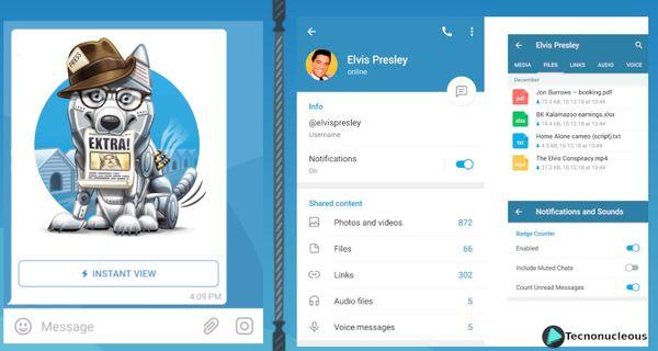Los nuevos concursos de Telegram: Concurso de Diseño y Instant View v2.0