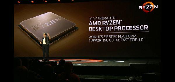 Preview de los AMD Ryzen 3000 en el CES 2019