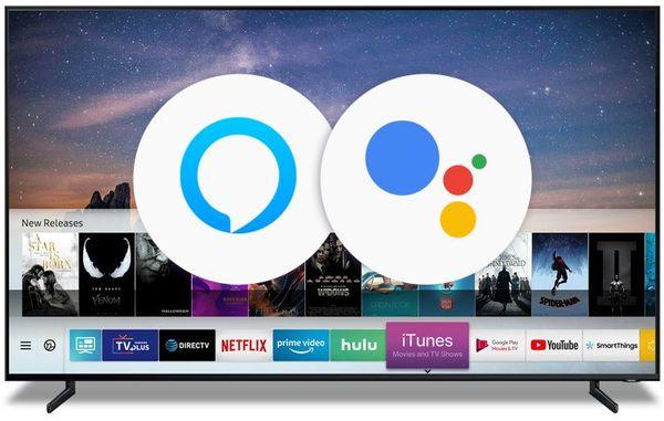 Las televisiones de Samsung funcionarán con los asistentes de voz Alexa y Google Assistant en 2019