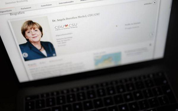 Hackers filtran los datos de los políticos alemanes
